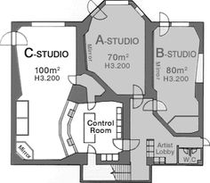 C-studio – Gerson Herrera – Audioroom Audio Studio, Music Studio Room, Sound Studio, Home Studio, Studio Floor Plans, Room Acoustics, Studio Layout, Studio Build, Recording Studio Design