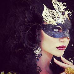 Masked in Black & White