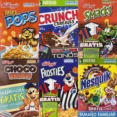 7 Ideas De Cajas De Cereales Cajas De Cereales Cajas Marcas De Cereales