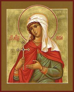 Xenia of St. Petersburg by Paul Drozdowski Byzantine Icons, Byzantine Art, Religious Icons, Religious Art, Russian Orthodox, Icon Collection, Catholic Saints, Art Icon, Orthodox Icons