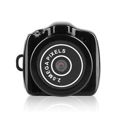 Mingus HD Mini 720P Camera Recorder Smallest Tiny Camcorder Video Recording Camera to Take Clear Video Audio and Photos - (Black) ** Want additional info? Click on the image.