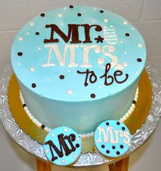 Leah's Sweet Treats: Wedding Shower Cake
