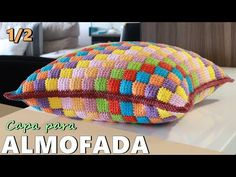 How to Crochet Entrelac - Tunisian Interlaced Patchwork Diamonds Entrelec by Naztazia - Crochet Booties Stitch Crochet, Bobble Stitch, Tunisian Crochet, Crochet Motif, Crochet Stitches, Crochet Patterns, Scarf Crochet, Crochet Home, Easy Crochet