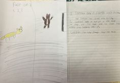 The elementary students are writing their own stories with illustrations. #story #illustration #brookeside #montessori