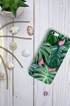 Tropical vibes to brighten up your day🌴☀️ Tropical Vibes, Tropical Plants, Samsung Cases, Iphone Cases, Phone Covers, Photos, Ideas, Mobile Covers, Pictures