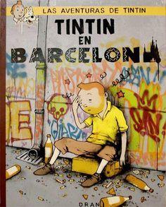 Tintin à Barcelone