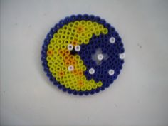 Moon - hama beads