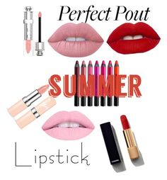 """""""sassy girl"""" by emmaislovely on Polyvore featuring beauty, Urban Decay, Chanel, Christian Dior, Lime Crime and summerlipstick"""