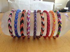 fishtail rainbow loom bracelets on etsy | cool mom picks