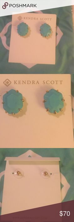 Kendra Scott Morgan's earrings Kendra Scott Morgan's in turquoise Kendra Scott Jewelry Earrings
