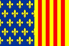 Lozère Department, France Flags Of The World, Countries Of The World, Early Middle Ages, Flag Photo, France, National Flag, Pilgrimage, Graphic Art, Graphic Design