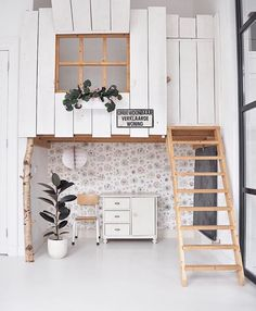 Kids tree house inside a home 😍 how insanely amazing is this space. Home Bedroom, Kids Bedroom, Bedroom Decor, Deco Kids, Welcome To My House, Cubby Houses, House Inside, Kids Room Design, Kids Decor