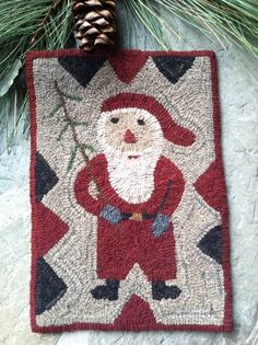 Primitive Hooked Rug 2 X 25 Rugs Underfoot Pinterest And Primitives