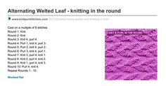 knitpurlstitches.com-Alternating Welted Leaf - knitting in the round.pdf