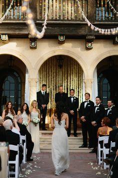 Powel Crosley Estate Wedding Ceremony