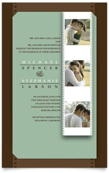 Layered Wedding Invitations - Teal Radiance #wedding