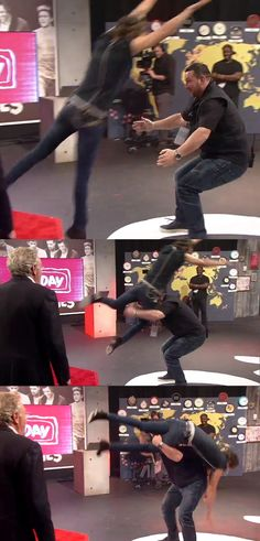 Paul and Harry during 1D day.