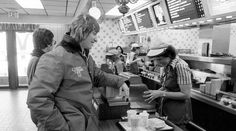 An intimate look at Gretzky's life off the ice throughout his career  -  March 25, 2017:     The future Great One grabs some grub at a McDonald's in Sault Ste. Marie.