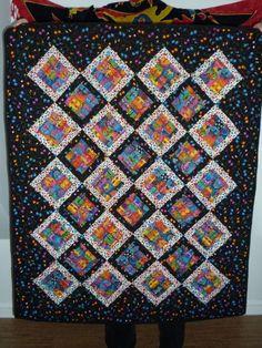 Need a cat quilt pattern: Laurel Burch