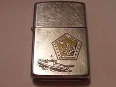 VINTAGE MILITARY ZIPPO USS SUMTER LST-1181 THE GAMECOCK FREE SHIPPING