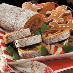Apple Butter Cake Roll Recipe
