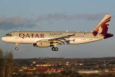 QTR Airbus A320 (A7-AHB)