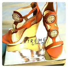 For a night out on the town Wedge sandal Extreme  Shoes Platforms