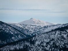 View from Medvědín to Sněžka