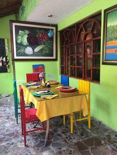 La Posada del Arte, Baños, Ecuador — by Marquestra. Charming place for lunch.