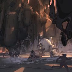 Thom Tenery | Concept Art, Visual Development, Illustration