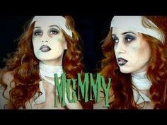 Mummy Girl Halloween Makeup Tutorial 2014