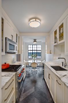 Kitchen after: Bright & open, ready for entertaining!