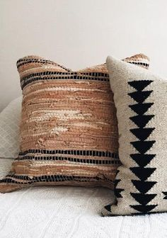 Amazon.com: Matador Leather Chindi Pillow, 18-Inch, Tan/Black: Home & Kitchen Black Throw Pillows, Ranch Decor, Leather Pillow, Guest Room Office, Bohemian Decor, Home Textile, Decoration, My Room, Decorative Pillows
