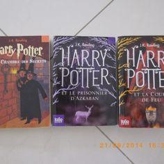 Envie de redécouvrir les classiques ? Avec ces tomes de la saga Harry Potter, rien de plus facile ! Et c'est Cécile qui les prête ;)