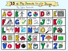 25 of My Favourite Googly Things by Sylvia Duckworth | Instructional Know-How
