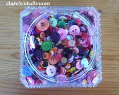 clare's craftroom: light fitting as a container