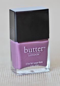 Scoundrel Nail Lacquer By Butter London 13.99 at shopruche.com. Mauve nail polish by Butter London. Formaldehyde, toluene, and DBP free. Opaque glossy color.0.4 fl oz