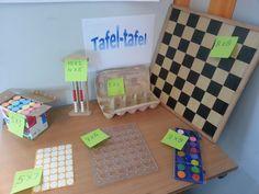 de tafel met tafels van vermenigvuldigingen School Teacher, Primary School, Planners, Apps, Classroom Inspiration, School Hacks, Lessons For Kids, Science For Kids, Math Activities