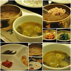 배추국이랑 구수한 누룽지가 그만인 서울맛집.. 젓갈도 나오고 장아찌도 나오고 뭐 먹음직스러운 음식들이 준비가 되어 나오는데 SANNERI traditional korean restaurant in insadong,seoul,korea
