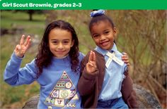 What Is Girl Scouting? Girl Scout Brownies