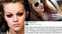Heroin & Meth-Addicted Moms Before & After Pics Go Mega-Viral After 4 Years Off Drugs