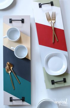 DIY Serving Tray | via inspired by charm
