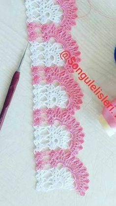 Baby Knitting Patterns, Crochet Patterns, Crochet Lace, Crochet Necklace, Design, Dish Towels, Crochet Hammock, Painting Patterns, Crochet Edgings