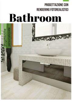 Progettazione con rendering fotorealistici di bagni