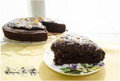 Pastel de chocolate vegano (Vegan chocolate cake)