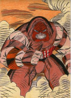 O fantástico Juggernaut!!