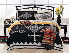 pendleton bed* | Pendleton Blankets | Pendleton® Los Ojos Robe and Blankets | Drew's ...