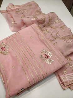 Your place to buy and sell all things handmade Casual Indian Fashion, Indian Wedding Fashion, Beautiful Dress Designs, Stylish Dress Designs, Designer Party Wear Dresses, Indian Designer Outfits, Embroidery Suits Design, Hand Embroidery Designs, Saree Blouse Patterns