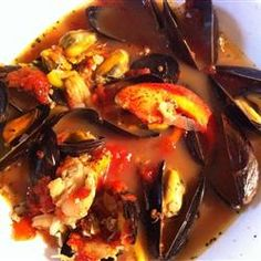 The broth is so good in this Seafood Cioppino @ Allrecipes.com
