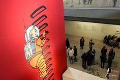BD : une planche originale du Tintin «On a marché sur la lune» en vente